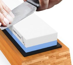 Sharp Pebble Premium Whetstone Knife Sharpening Stone 2 Side Grit 1000/6000 Waterstone
