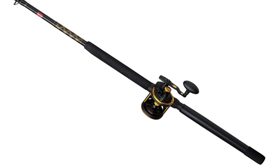 Penn Squall Lever Drag Conventional Fishing Reel & Rod Combo