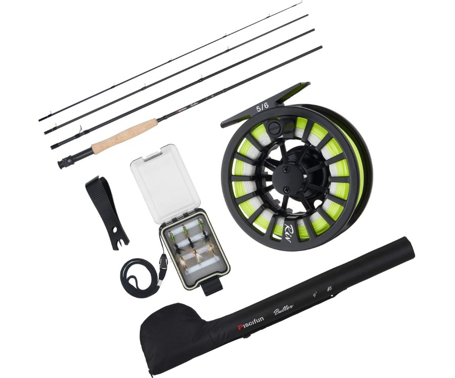 Piscifun Fly Fishing Rod & Reel Combo