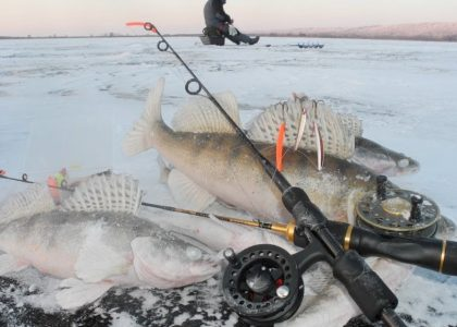 ice fishing reels