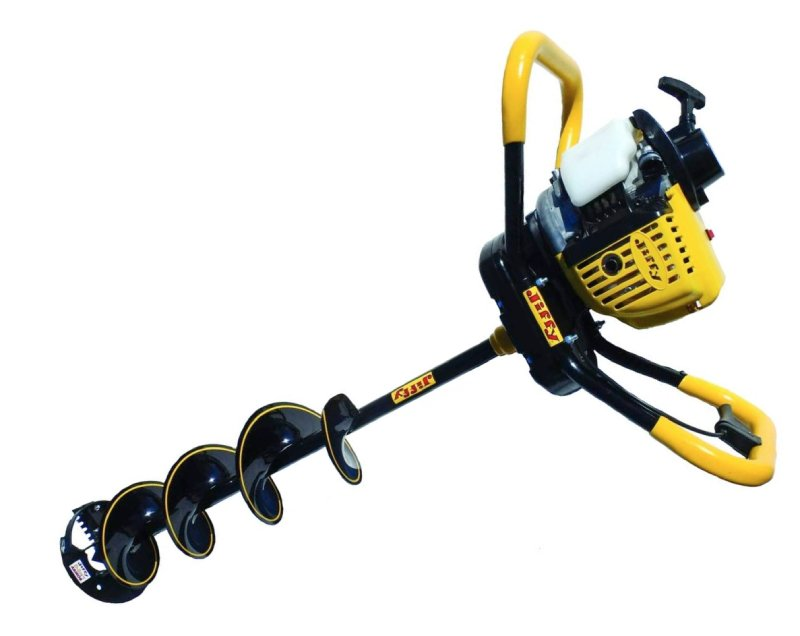 Jiffy gas ice auger