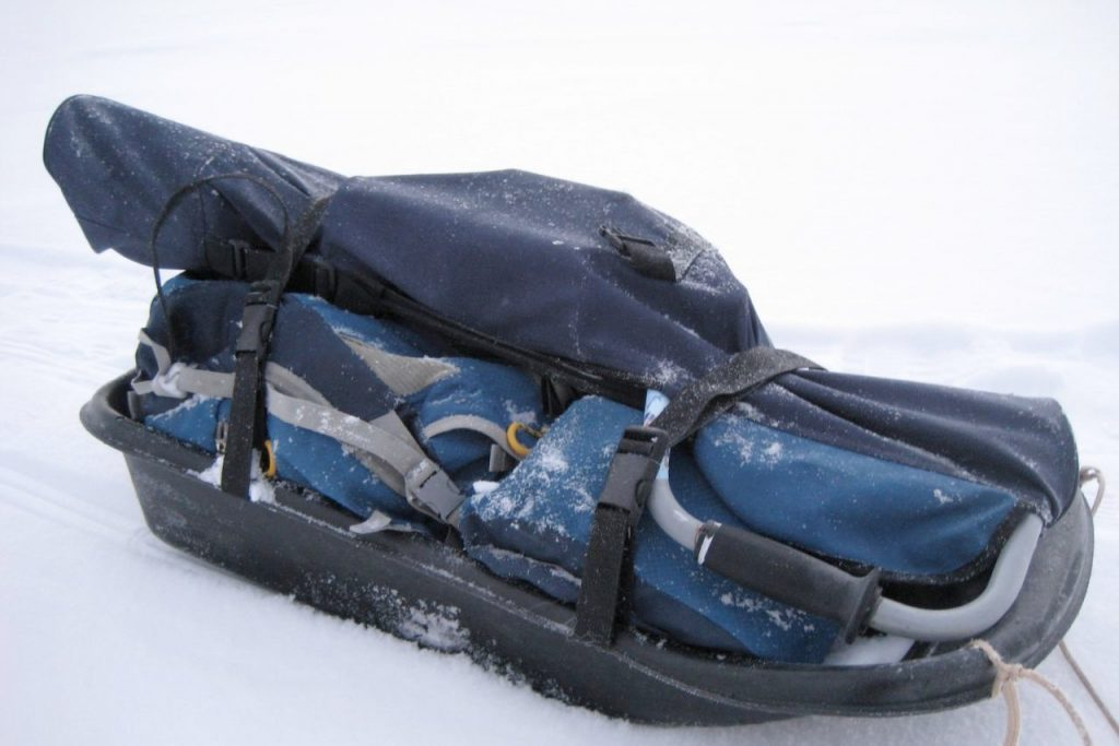 Ice Fishing Sleds
